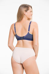 Cake Sugar Candy Crush Fuller Seamless Everyday Bra-Denim
