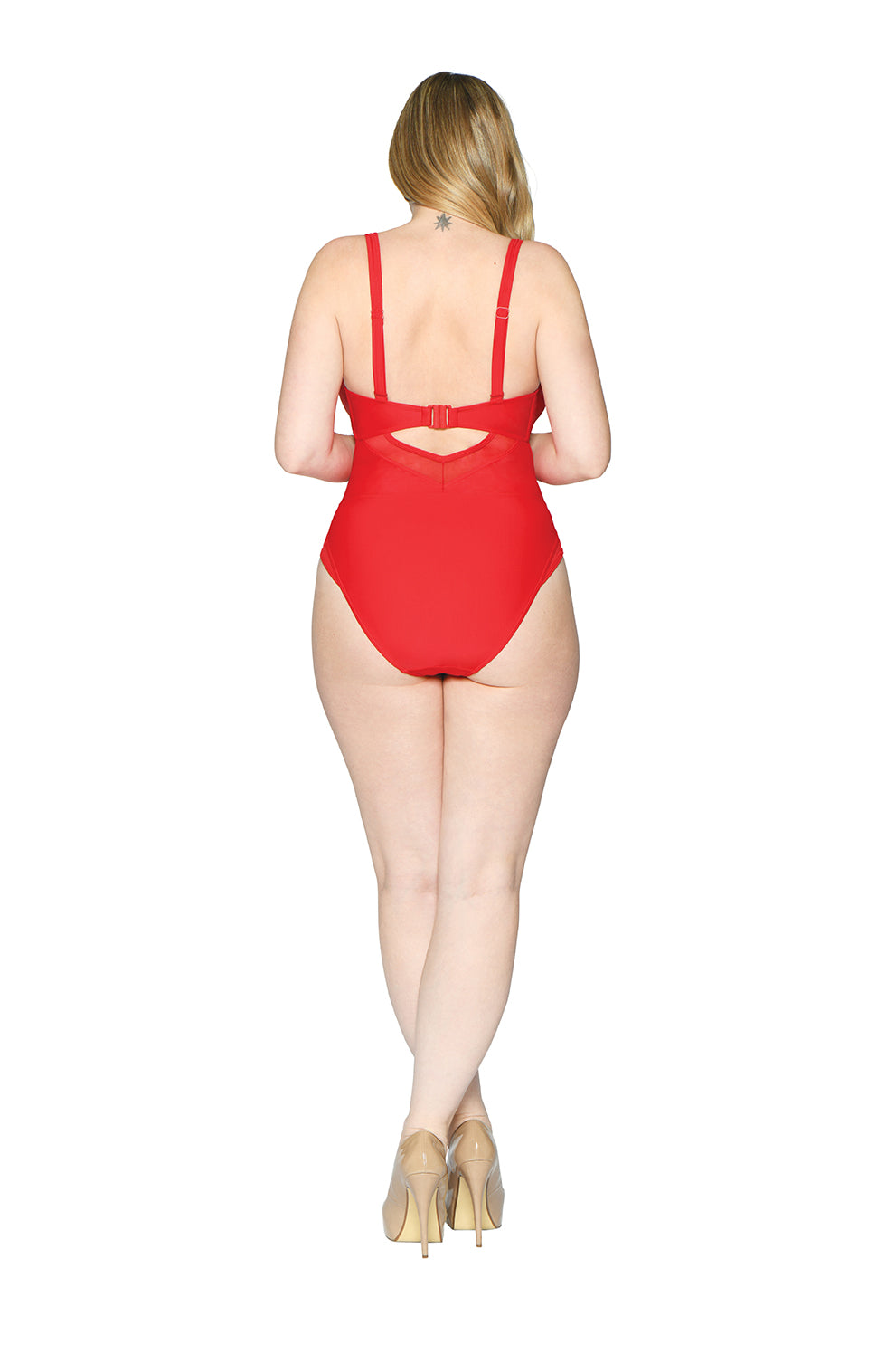 Curvy Kate Sheer Class Plunge Swimsuit CS001605