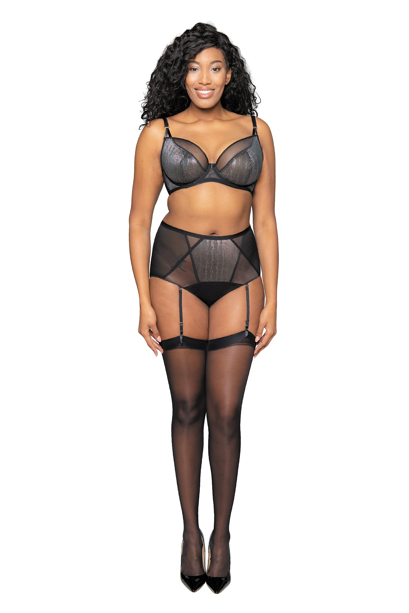 Curvy Kate Sparks Fly High Waisted Suspender Brief CK013214