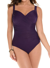 Miraclesuit DD-Cup Solid Sanibel Swimsuit 6513363DD