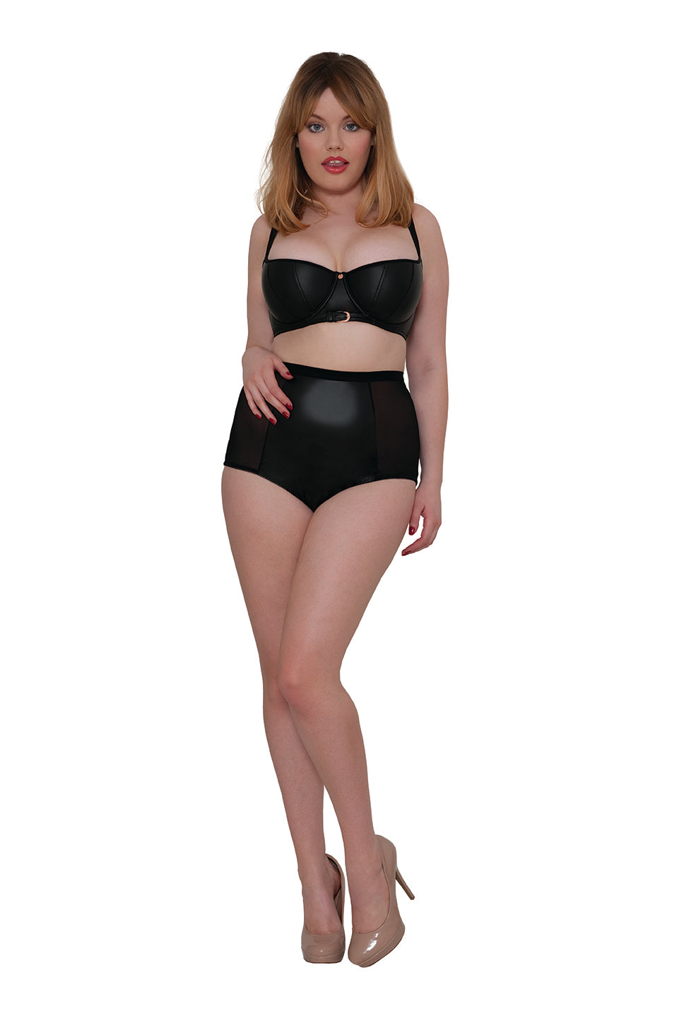 Scantilly by Curvy Kate Unleash High Waist Brief ST2605