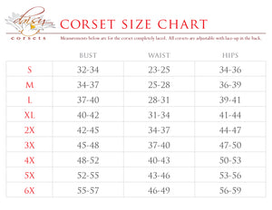 Daisy Corsets Top Drawer Brocade Steel Boned Corset Top with Buckles TD-083T