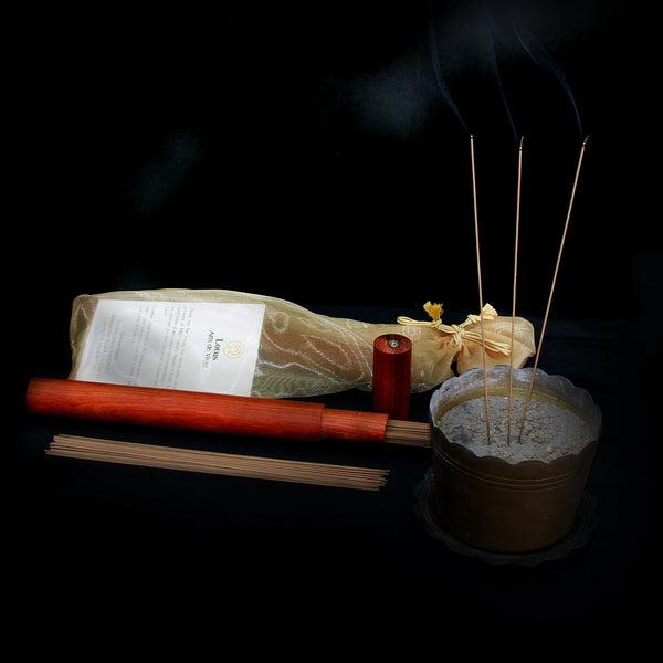 Incense Sticks with Wooden Case
