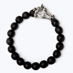 Mala Beads Bracelet with Horoscope - Horse