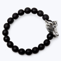 Mala Beads Bracelet with Horoscope - Ox