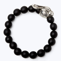 Mala Beads Bracelet with Horoscope - Rabbit