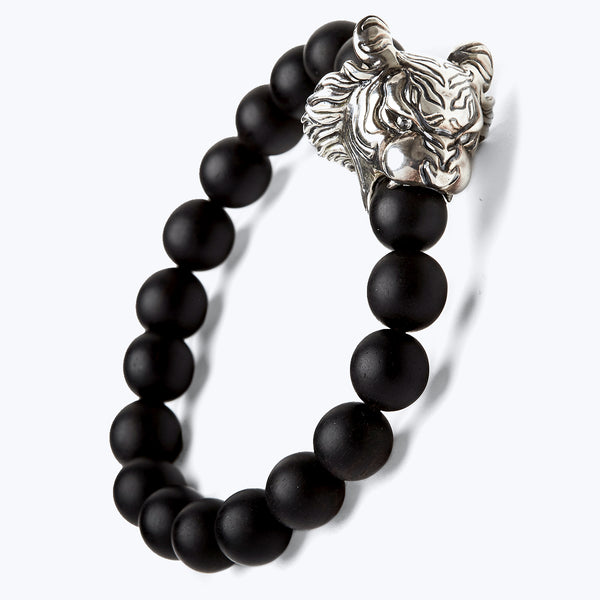 Mala Beads Bracelet with Horoscope - Tiger