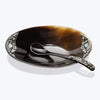 Small Buffalo Horn Soya Sauce Bowl