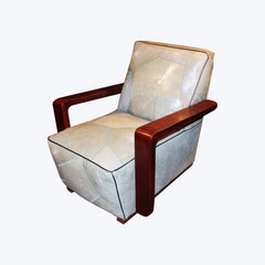 Galuchat Arm Chair