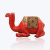 Red Lacquer Camel Stool