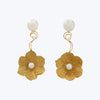 Gold Flower Earrings ( 9th Century )