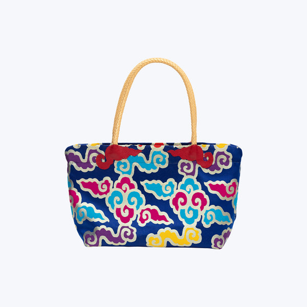 Tibetan Brocade Shopping Bag # S
