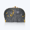 Galuchat Elephant Handbag with Diamond