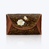 Lontar Handbag with Butterfly & Mother of Pearl flower