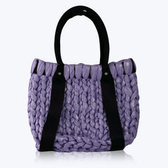 Purple Hampton Beach Bag