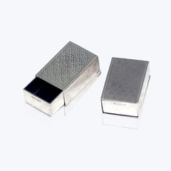 Small Silver Pill Box