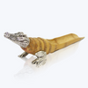 Crocodile Bamboo Root Tea Spoon