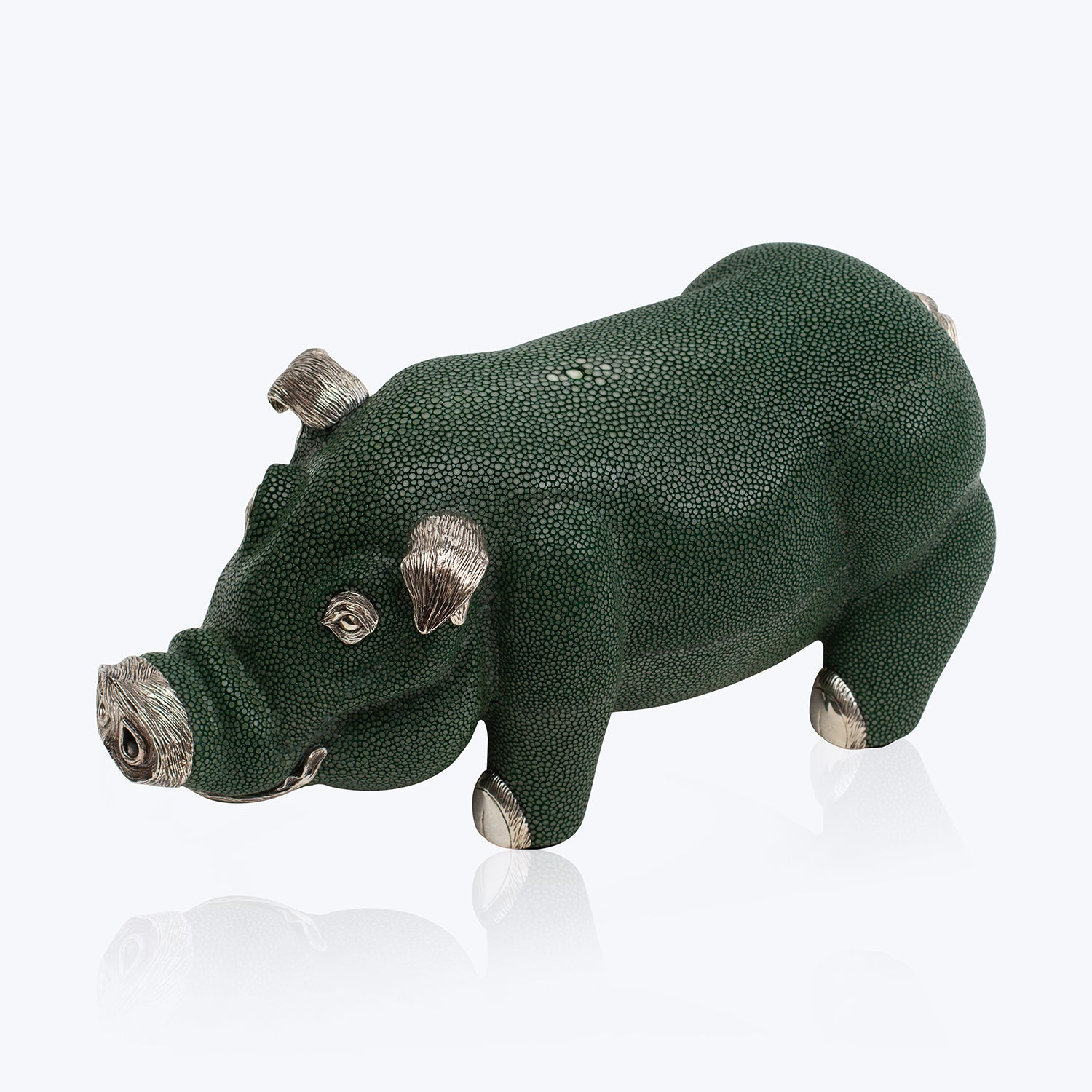 Galuchat Pig Bookend