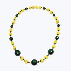 Prayer Beads Necklace with Scarab Beads