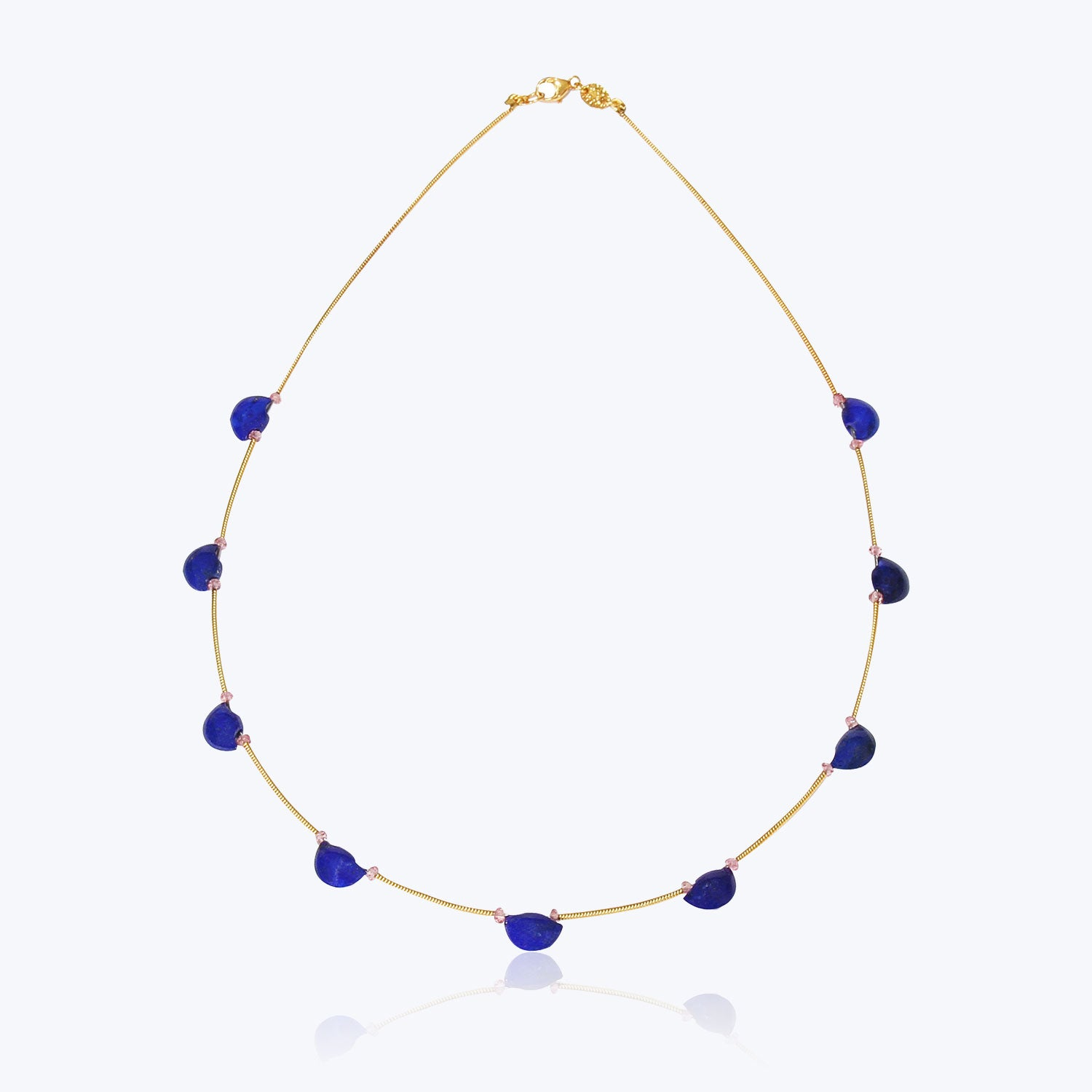 Taveez Necklace with Lapis
