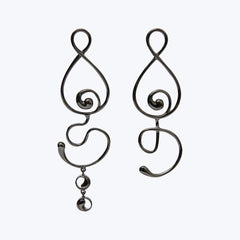 Heya & Howa Silver Earrings wt. 7.79 g.