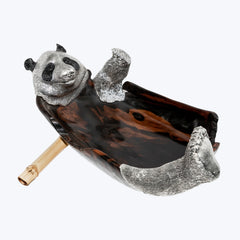 Ebony Panda Bowl