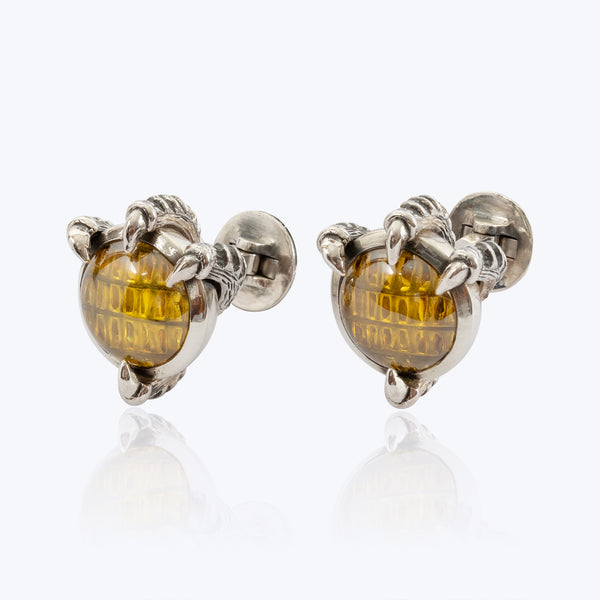 Dragon Fish Feet Cufflink