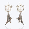 Dragon Fish Feet and Fin Earrings