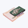 Galuchat Leather Money Clip with Dragon Fish Eye