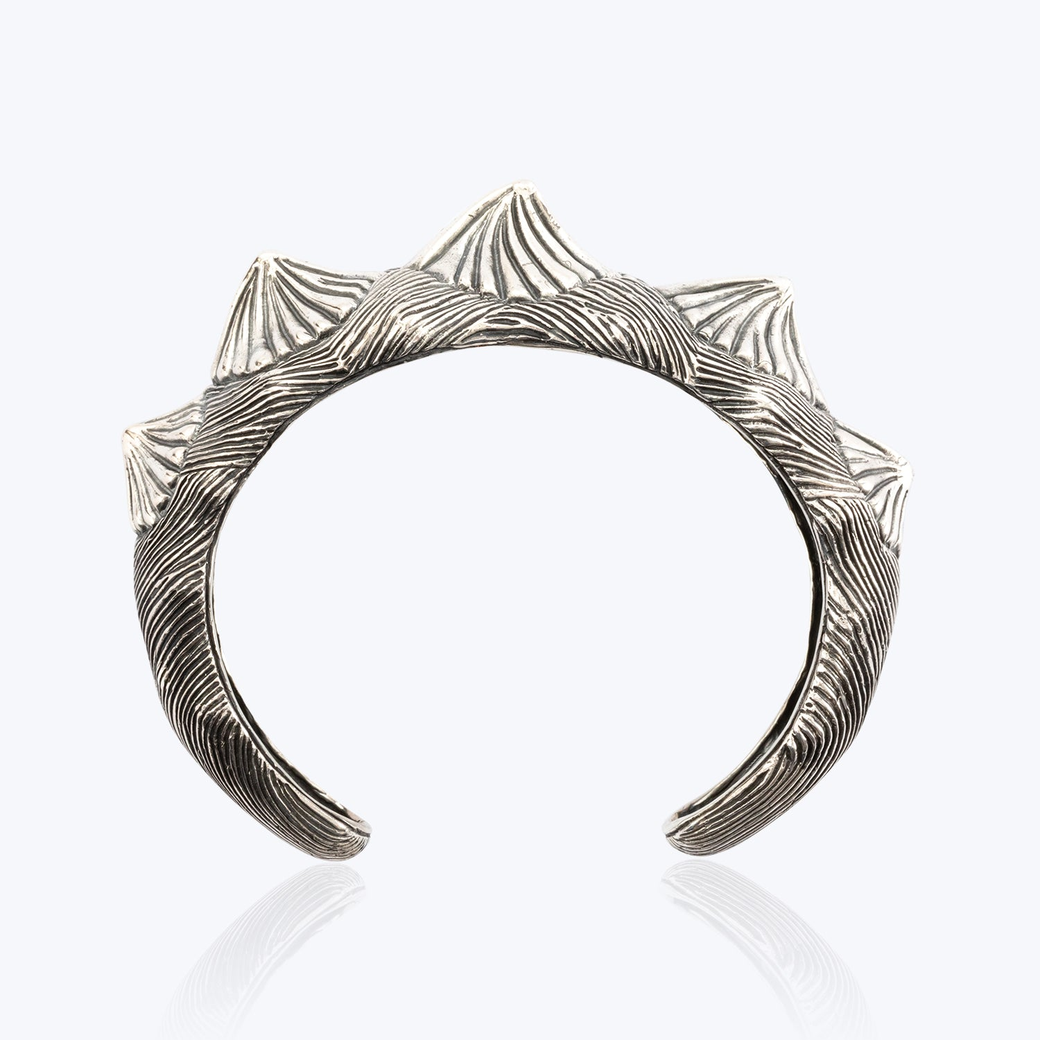 Dragon Fish Ridge Back Bangle