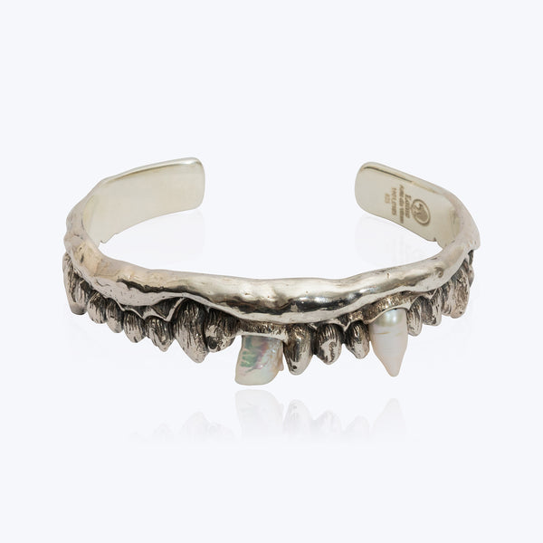 Dragon Fish Teeth Bangle