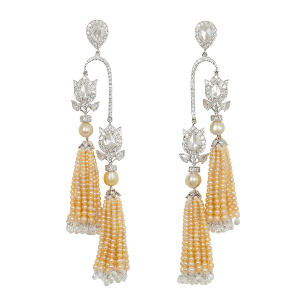 Basra Pearl  Earrings