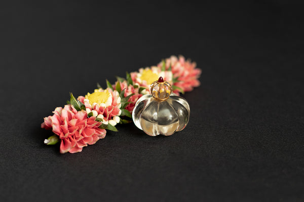 Rock Crystal Perfume Bottle
