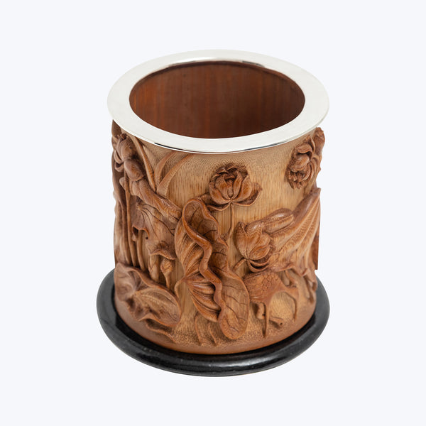 Carved Bamboo bowl