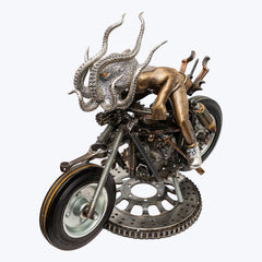 Motorbike with Octopus