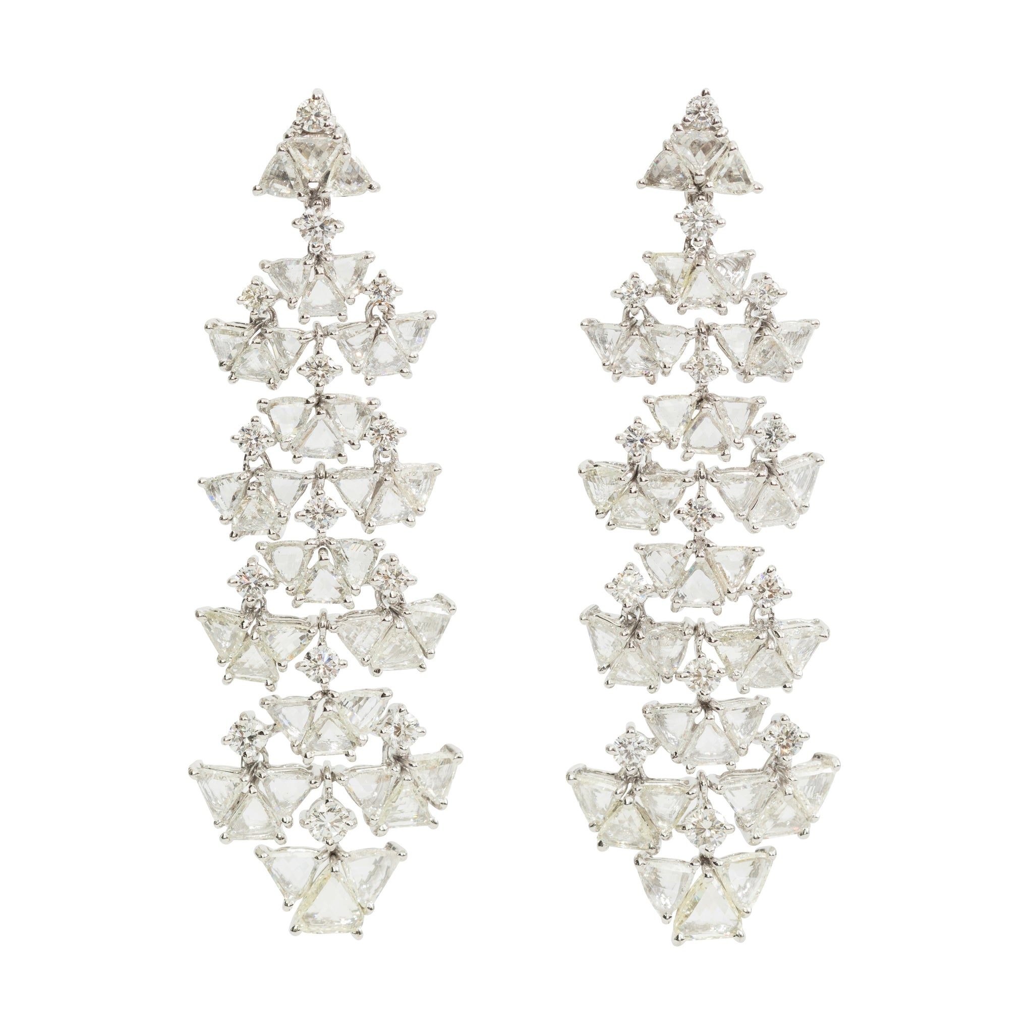 Diamond Chandelier Earrings