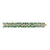 Golconda Diamond and Panjshir Emerald Bracelet