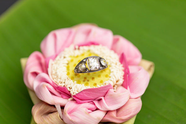 Golconda Diamond Ring