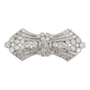 Platinum Brooch Studded with Diamonds
