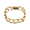 Pave Diamond Chain Link Bracelet