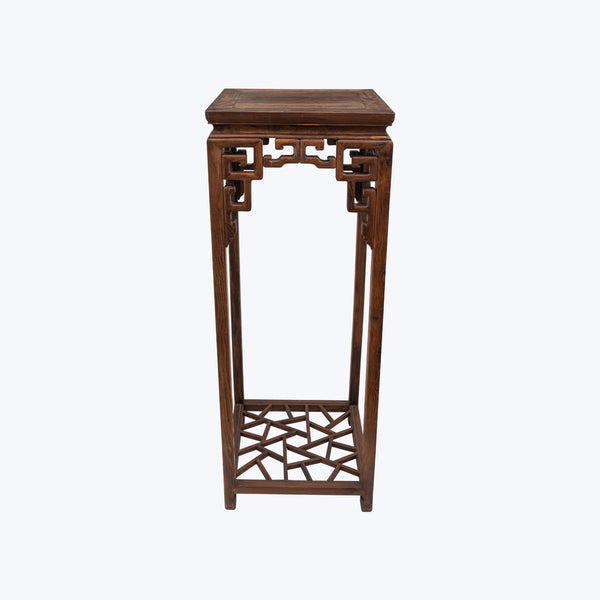 Carved Rose Wood Square High Table