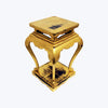 Gold Painted Side Table