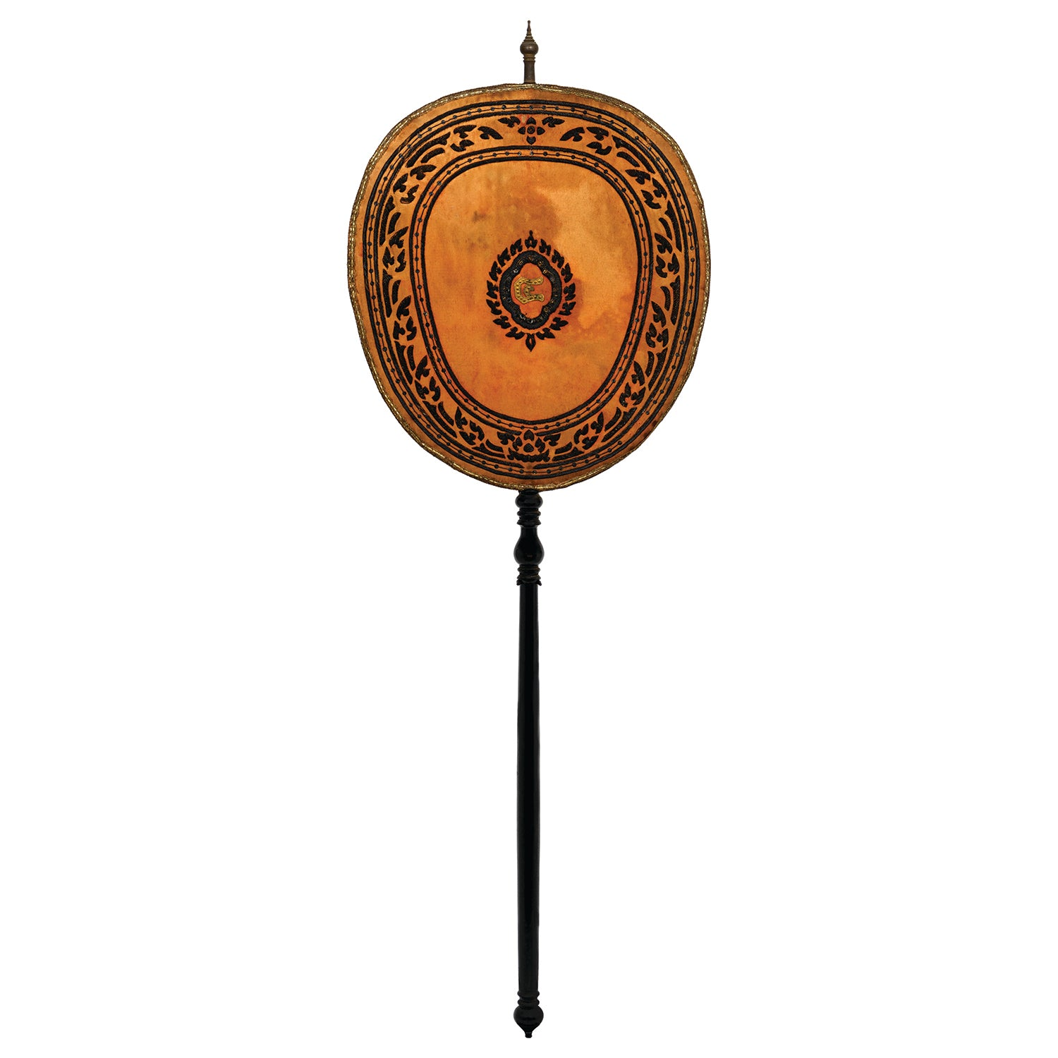 Antique Talapad Ceremonial Fan For The Buddhist Graduate
