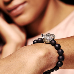 Mala Beads Bracelet with Horoscope - Pig