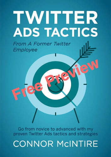 Twitter Ads Tactics Free Preview