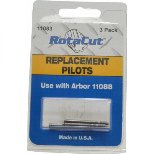 Pilot Pin To Suit Rotacut Arbor 11088 Pack Of 3 11083