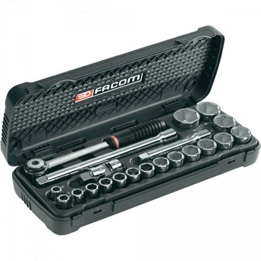 Socket Set 1/2dr 23pc 10-32mm Facom  S.161-3P6PB