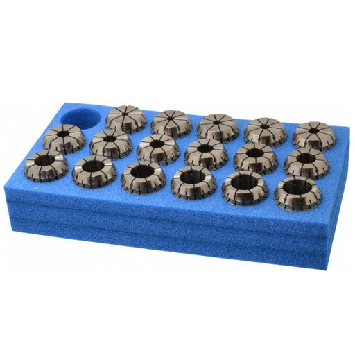 ER32 Collet Set  18Pce 3-20mm In Plastic Case