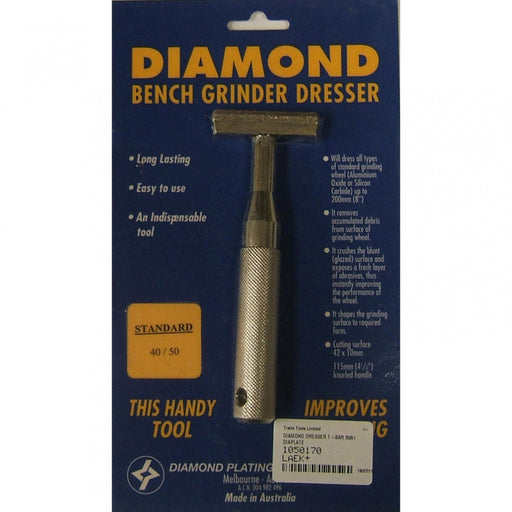Diamond Dresser T-Bar 89A1 Diaplate