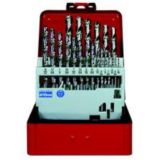 1/16-3/8x1/64 Bright Drill Set Metal Case Evacut #2